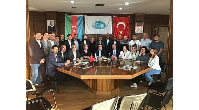 DATÜB Genel Başkanı Kassanov, Azerbaycan Temsilciliği ofisini ziyaret etti