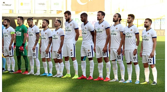 TFF 1. Lig: İstanbulspor: 1 - Menemenspor: 2