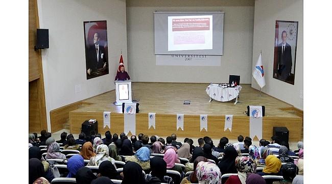 "AİÇÜ' de ""Kur'an Bize Yeter Söylemi"" konferansı düzenlendi"