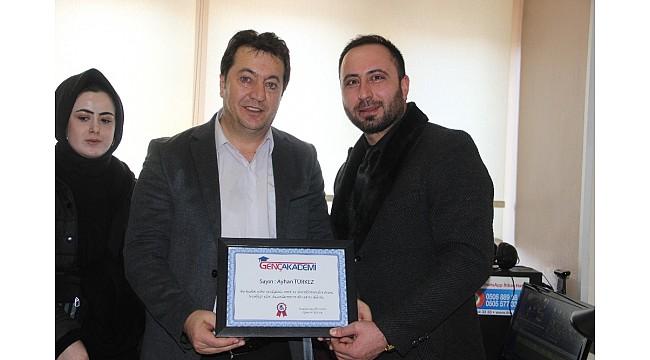 Anadolu Gençlik Zirvesi Eğitim Platformu'ndan İHA'ya ziyaret