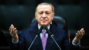 Cumhurbaşkanı Erdoğan'a AK Parti Grubu'nda doğum günü sürprizi