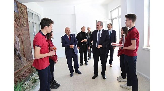 Fatih Anadolu Lisesi'ne ziyaret