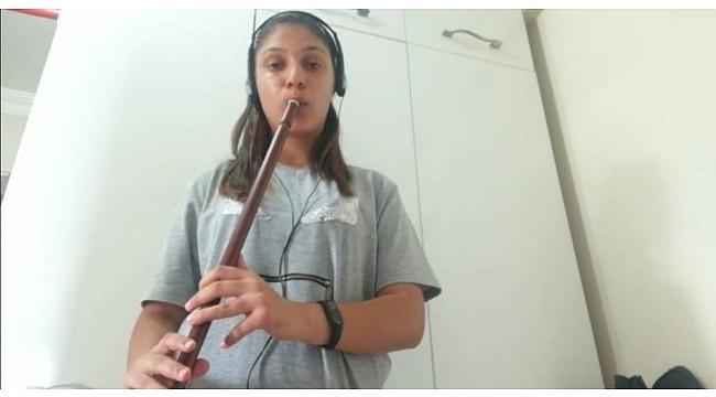 Varto Cumhuriyet Ortaokulundan müzik klibi