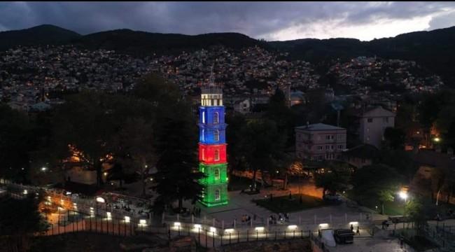BURSA AZERBAYCAN'A SELAM ÇAKTI