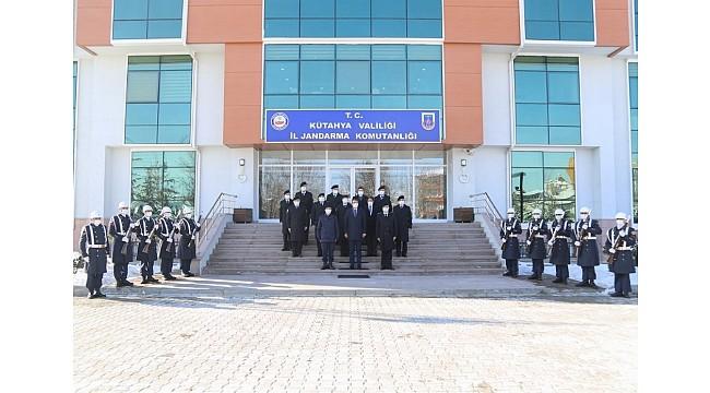 Vali Ali Çelik'ten İl Jandarma Komutanlığı'na ziyaret