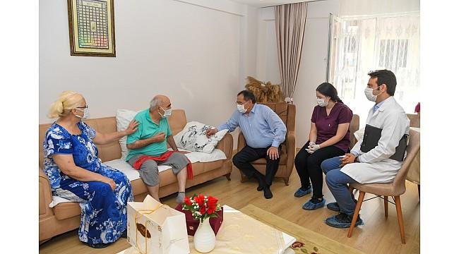 Yaşlılara evde fizyoterapi hizmeti
